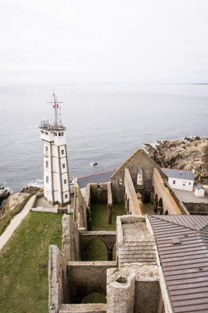Pointe Saint-Mathieu – Vue du haut du phare
