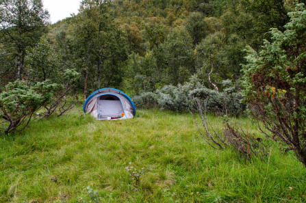 Camping sauvage dans le Telemark