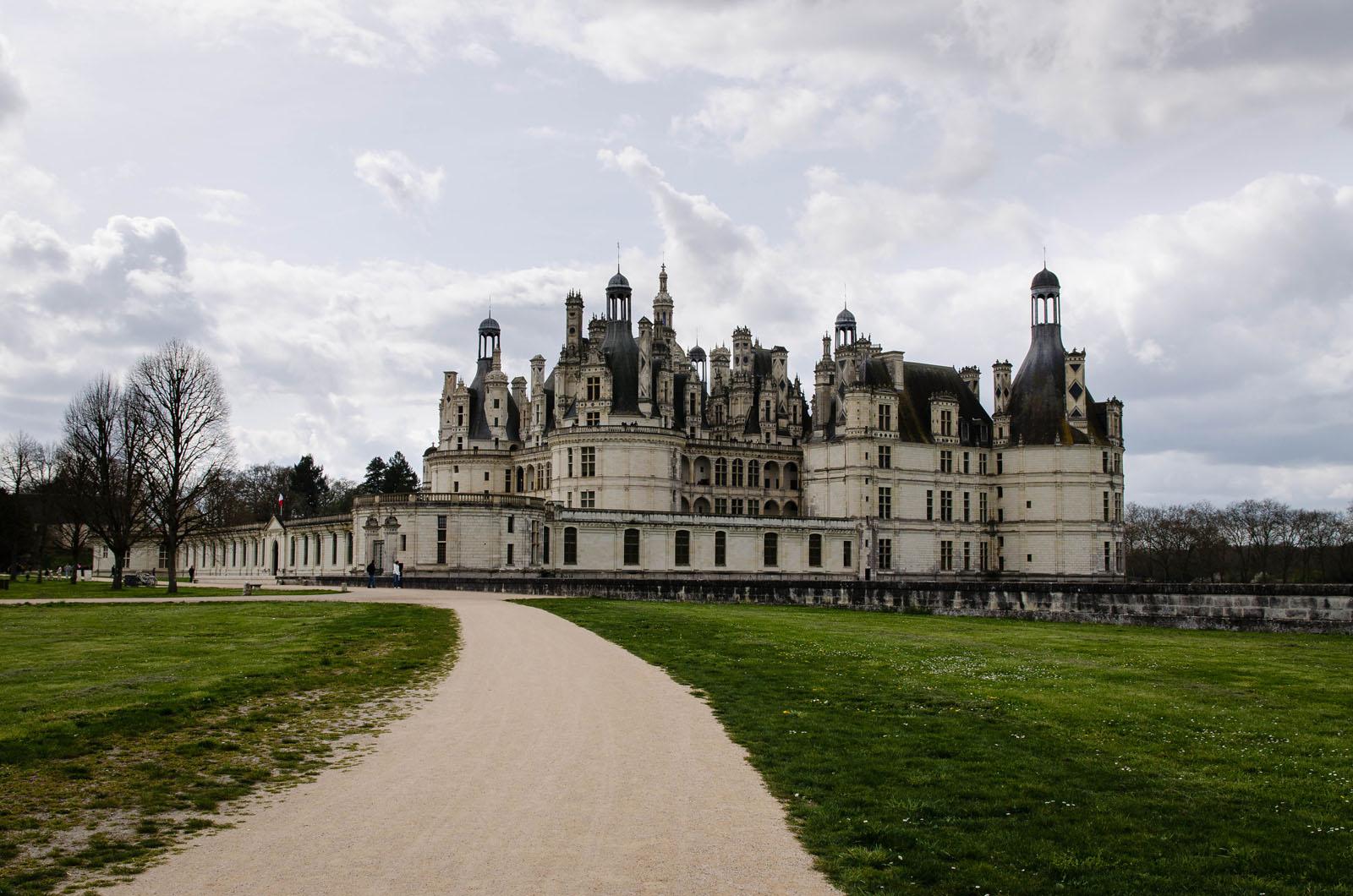 Destinations de julie ch teaux de la loire for Jardin a la francaise chambord